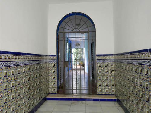 民家の入り口
