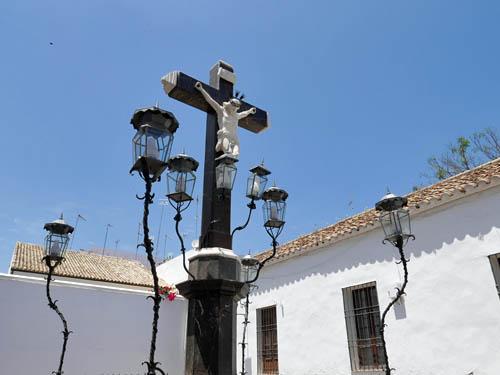 灯火のキリスト像