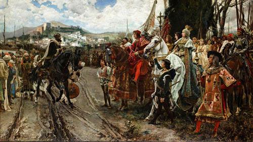 グラナダの開城