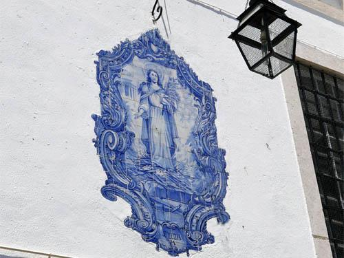 サンタ・ルジア教会のアズレージョ