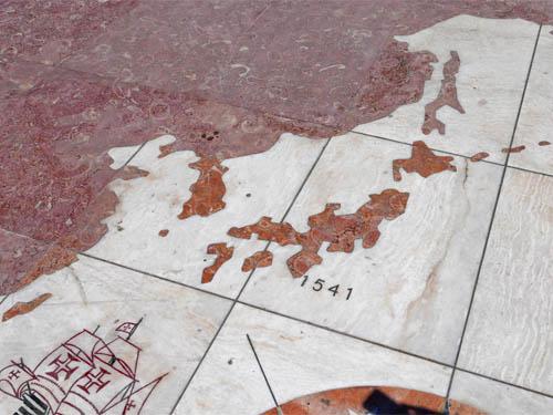 日本は1541年に発見