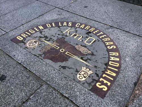 スペインの道路元標