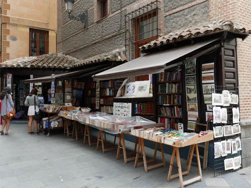 サンヒネス教会の古書店