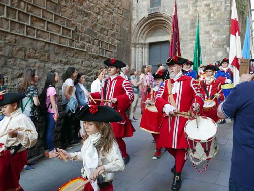 旧市街でのパレード