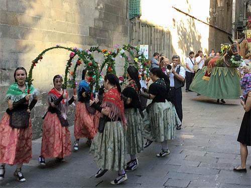 旧市街のパレード