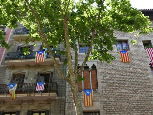 カタルーニャ州旗