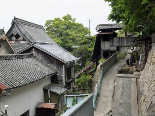 天寧寺の渡り廊下