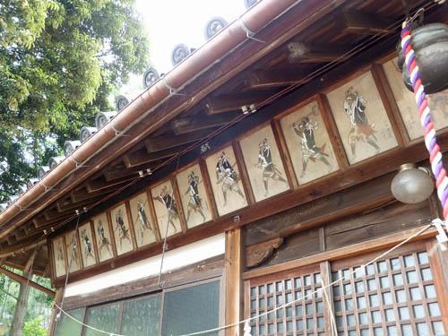厳島神社の赤穂浪士