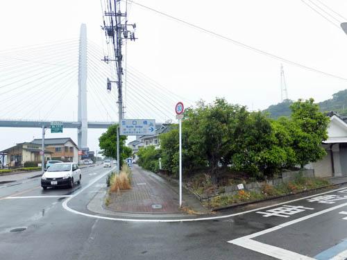 生口橋への入口