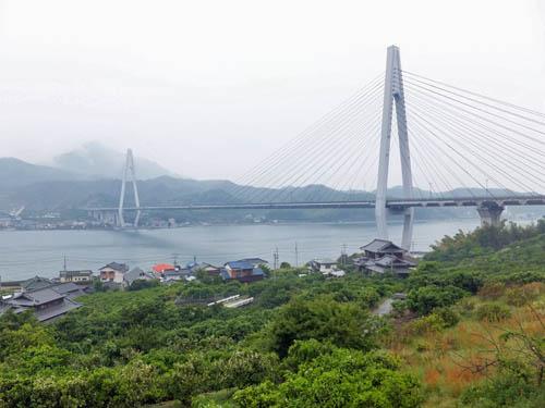 生口橋と生口島