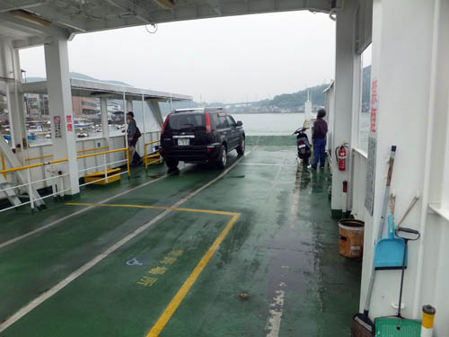 向島への渡船
