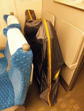 東京駅を出発