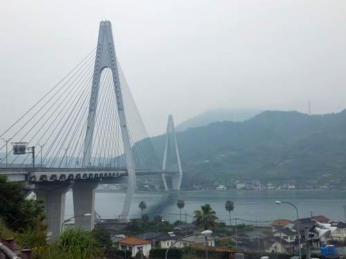 生口橋と因島