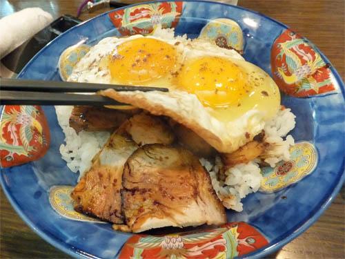 焼き豚玉子飯