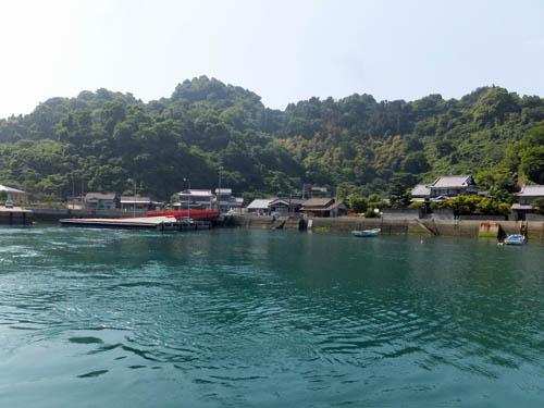 小大下島の船着き場