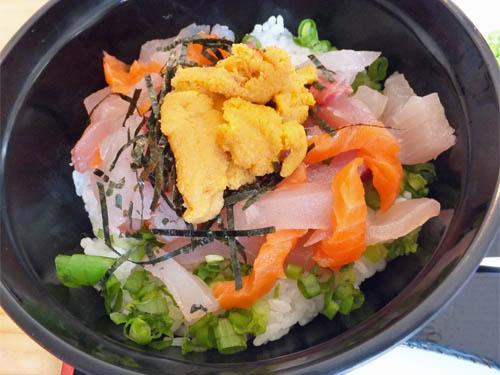 がんこ亭の海鮮丼