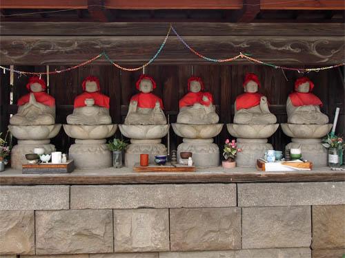 時丸寺の六地蔵