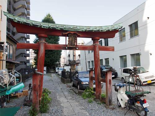 浦和宿二・七市場跡