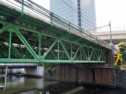 甲武鉄道時代の鉄橋