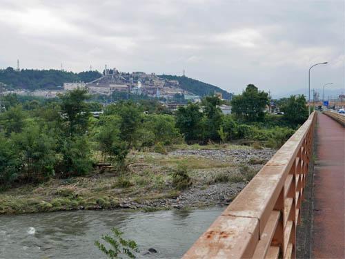 鷹之巣橋からの眺め