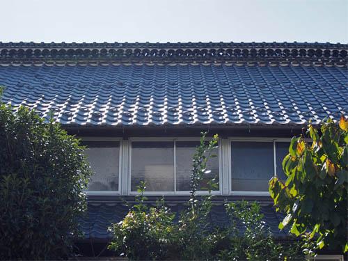中山道沿いの家
