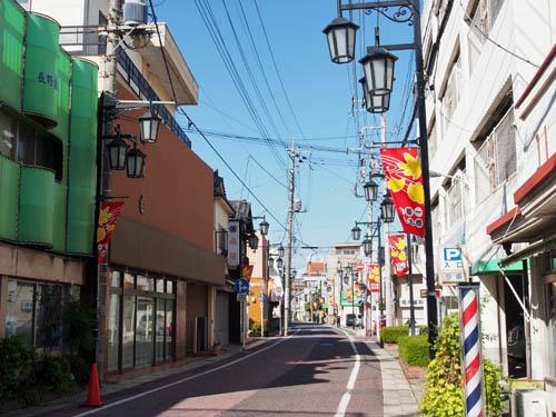 熊谷の商店街