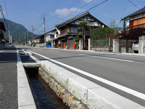 坂本宿風景