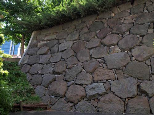 外堀の石垣