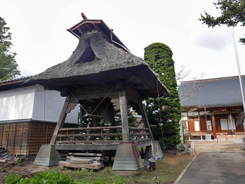 宝珠院の鐘楼