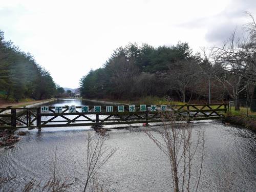 千ヶ滝湯川用水温水路