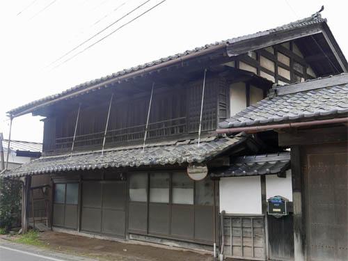 小田井の古い民家