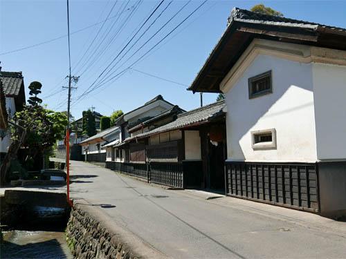 茂田井の街並み