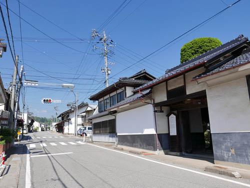 芦田宿街並み