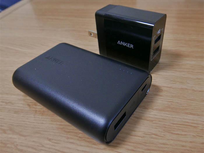 Anker モバイルバッテリー