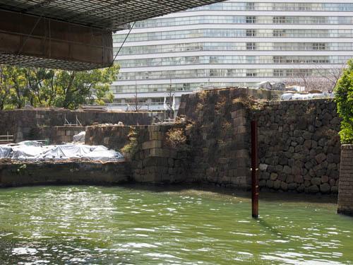 常盤橋門枡形の石垣