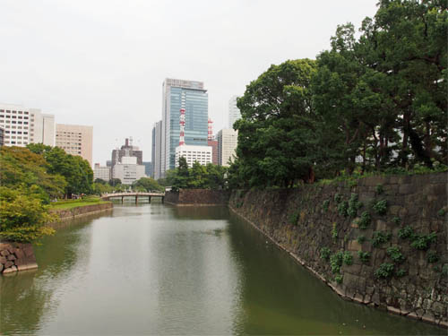 竹橋からの眺め