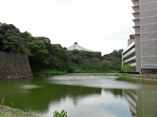 牛ヶ淵と武道館