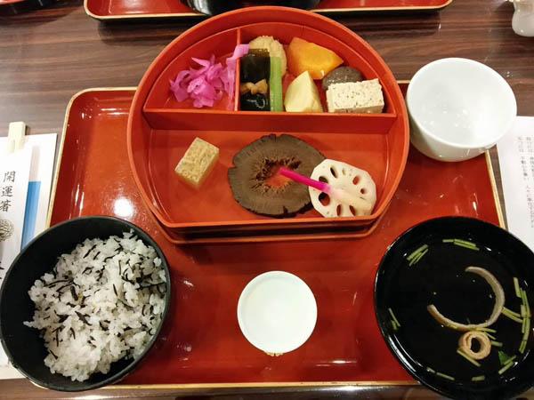 成田山精進料理