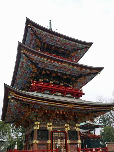 成田山三重塔