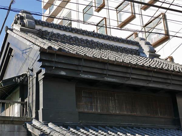 草加宿の旧家