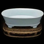 東洋陶磁美術館 故宮博物院の青磁水仙盆を見る