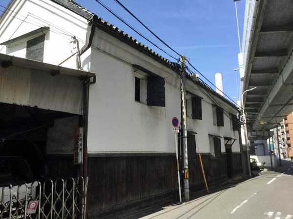 大阪天満橋付近