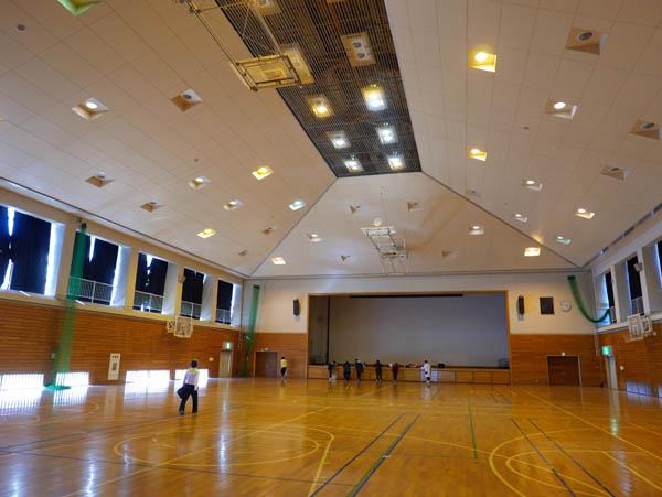 内浦山体育館