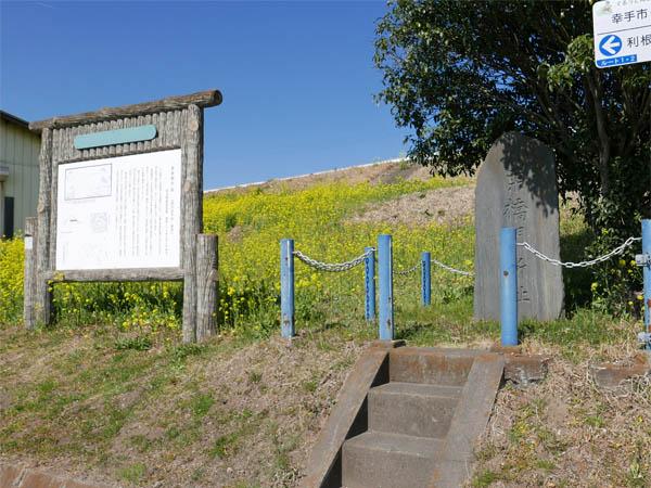 栗橋関所跡碑