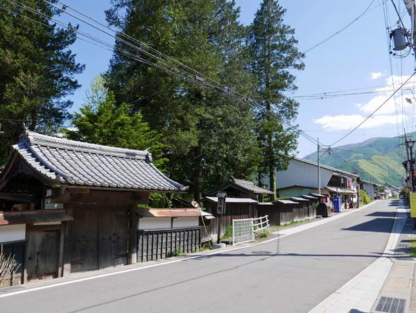 和田宿の街並み