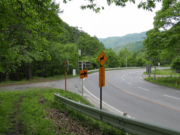 国道142号と合流