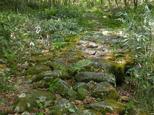 旧中山道石畳