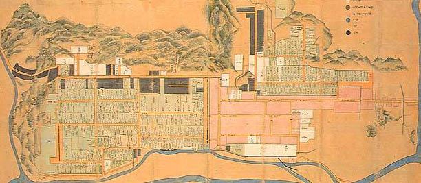 角館古地図