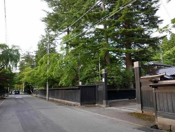 田町武家屋敷通り
