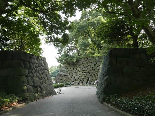 汐見坂門跡